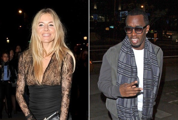 Celebs Who've Dated Rappers » Celeb News/Diddy Dated Sienna Miller
