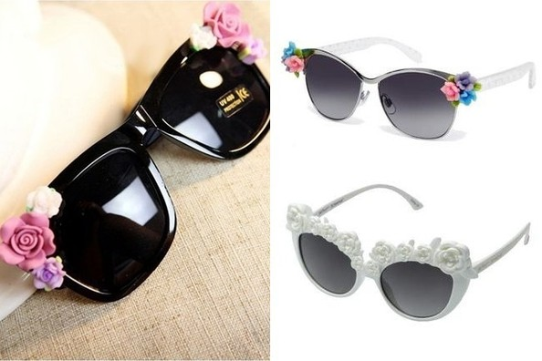 Trend to Try: Floral Sunglasses