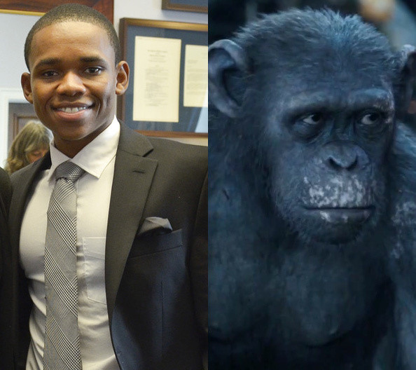 Doc Shaw as Ash - The Actors Behind the Apes - Zimbio