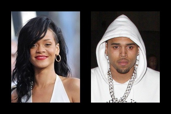 Rihanna was rumored to be with Chris Brown