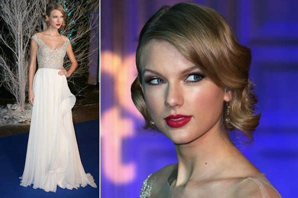 Taylor Swift's Winter Princess Gown