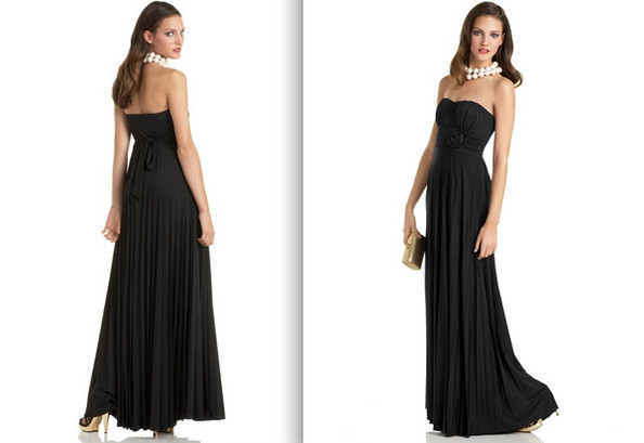 How to accessorize a black dress for prom