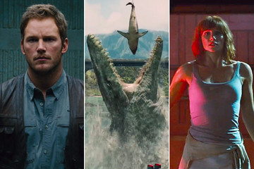 The 6 Best GIF Moments from the 'Jurassic World' Trailer