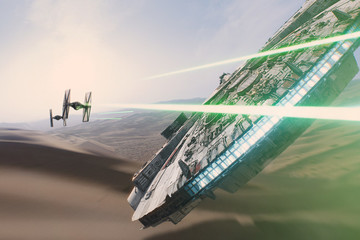 Check Out the Incredible Special Effects Used in 'Star Wars: The Force Awakens'