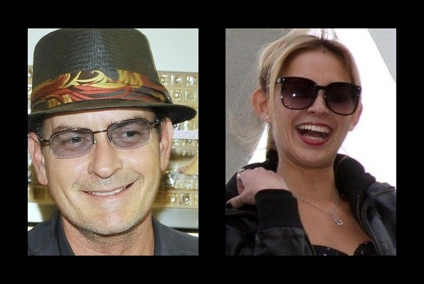 Charlie sheen dating history