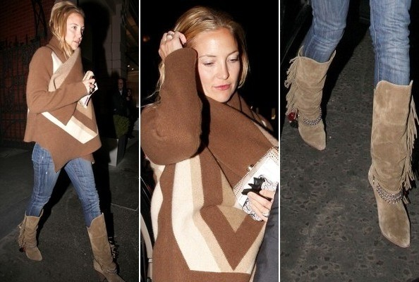 Why It Works: Kate Hudson's Casual Cowgirl in London Look