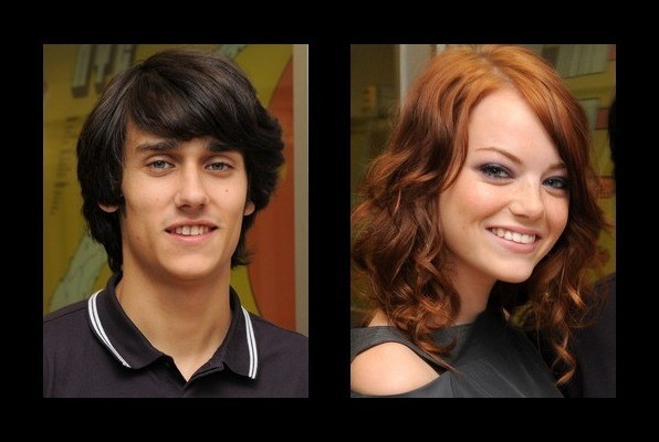Teddy Geiger dated Emma Stone