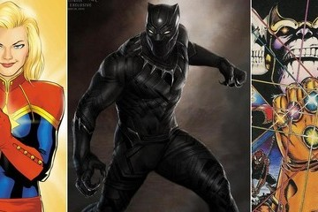 Marvel Announces Movies for Captain Marvel, Black Panther, Much More!
