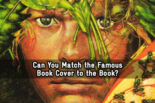 Book Cover Photography Quiz : Can you match the famous book cover to trivia