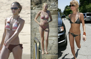 Celebrity Bikini Battle - Cute Moms