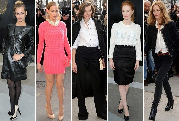 Which Front Row Guest Was Best-Dressed at the Chanel Fashion Show? Vote!