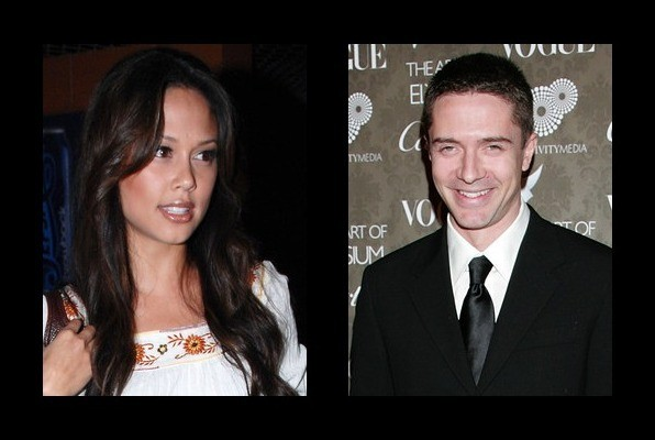 Vanessa Lachey was rumored to be with Topher Grace
