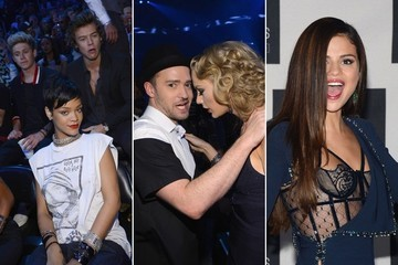 The Best Backstage and Audience Photos from the 2013 MTV VMAs