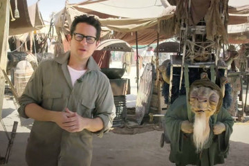 Watch J.J. Abrams Offer a Chance to Be in 'Star Wars: Episode VII,' and Hang Out with a New Alien