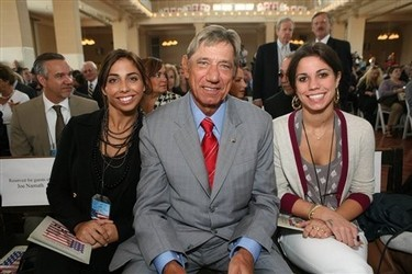 Joe Namath Daughter Jessica http://www.zimbio.com/Olivia+Namath/articles/XiRpwKr8HHM/Olivia+Namath+Pictures+and+Bio