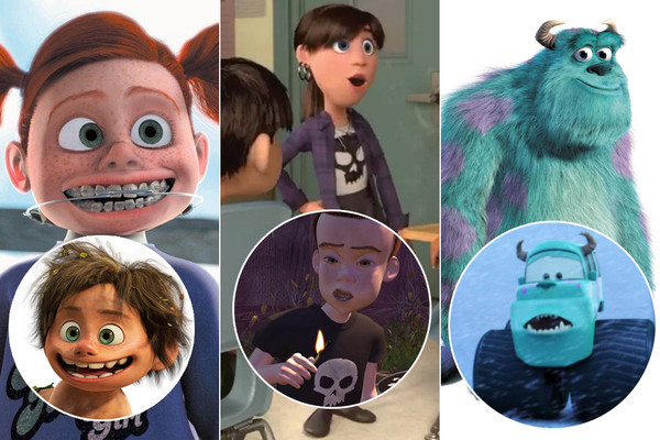 A Closer Look at Pixar's Many Easter Eggs