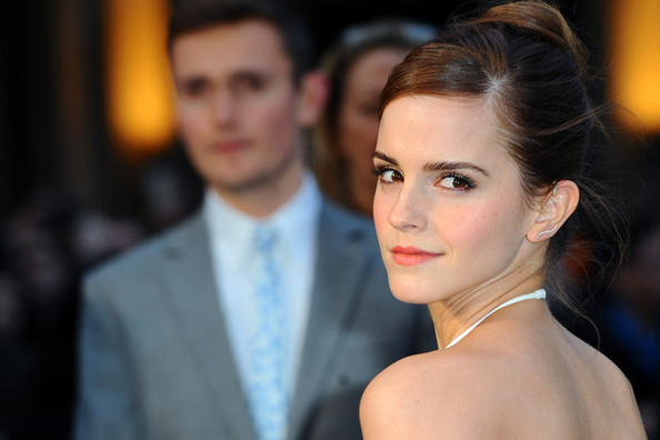 Hair Envy Of The Day: Emma Watson's Bejeweled Updo