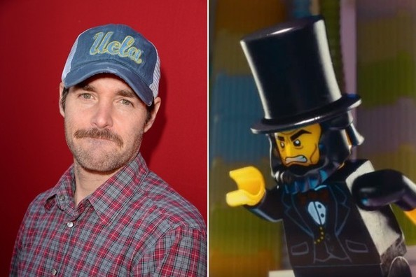 Lego movie celebrity voices
