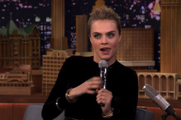 Watch Cara Delevingne Beat-Box With The Roots' Tariq Trotter [Video]