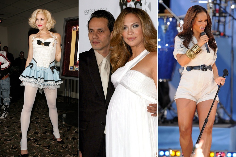 pregnant performers pop stars who toured while they were