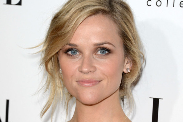 Hair Envy of the Day: Reese Witherspoon's Dressed-Up Messy Bun