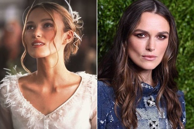 Juliet (Keira Knightley) - Then and Now: The Cast of 'Love ...
