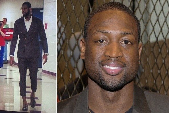Dwyane Wade Isn't Afraid to Wear Polka-Dots and Man-Capris, Okay?