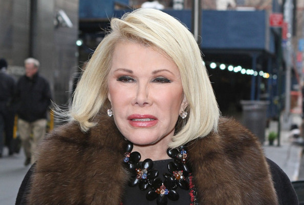 Joan rivers smoking with