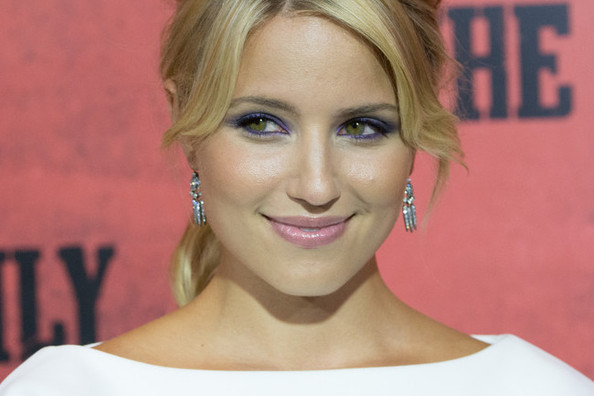 Is Dianna Agron's Makeup Combination the Cutest or What?
