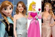 Imagining Your Favorite Celebrities As Disney Princesses