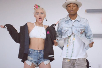 Miley Cyrus Offers a Lesson in Restraint in Pharrell's 'Come Get It Bae' Music Video