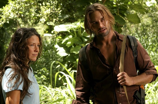 Kate and Sawyer, 'Lost'