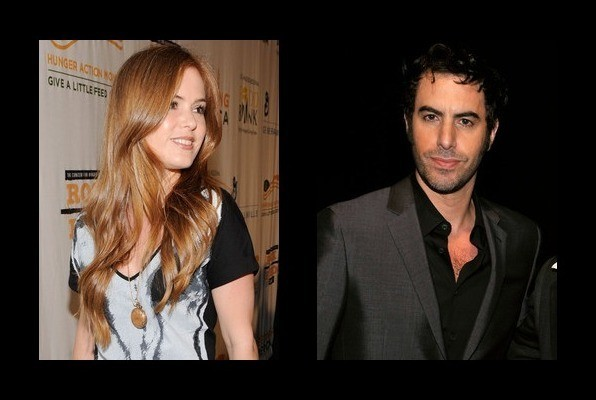 Isla Fisher is married to Sacha Baron Cohen