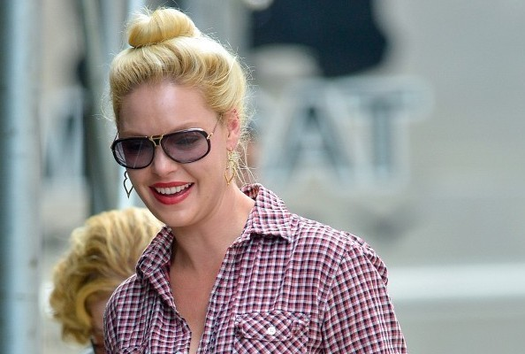 Katherine Heigl in New York City