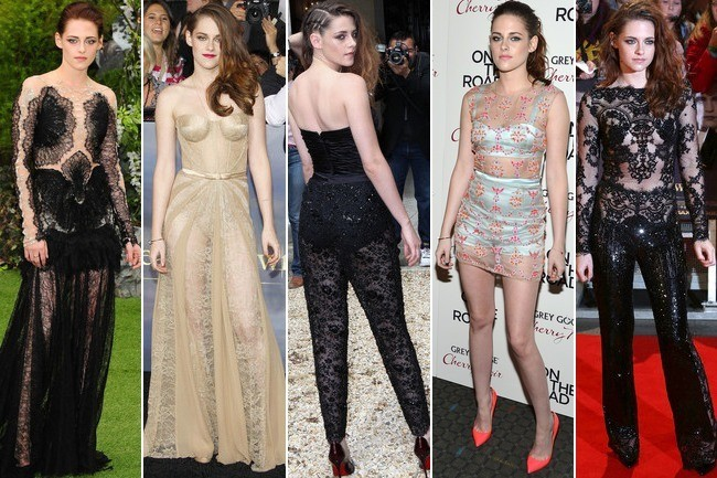 Kristen Stewart's See-Through Style Infatuation