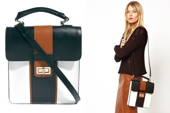 StyleBistro STUFF: ASOS's Color-Blocked Satchel