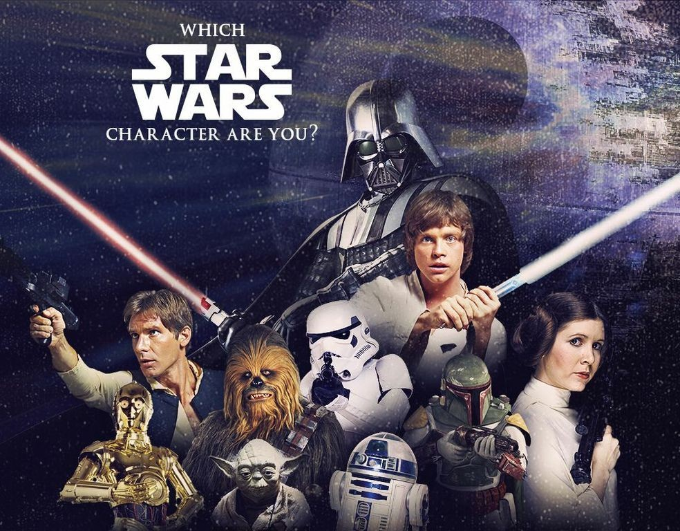 Which Star Wars Character Are You Quiz Zimbio