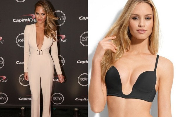 84b9abe2a8 How to Choose the Right Bra for Every Outfit · Best Bra for a Plunge  Neckline