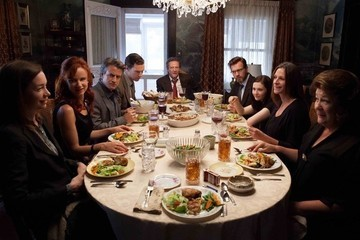 Zimbio Review - 'August: Osage County' Isn't Hell, It's Oklahoma in Summer