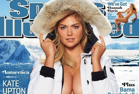 Kate Upton's Cleavage Withstands Arctic Temperatures on 'Sports Illustrated' Swimsuit Cover