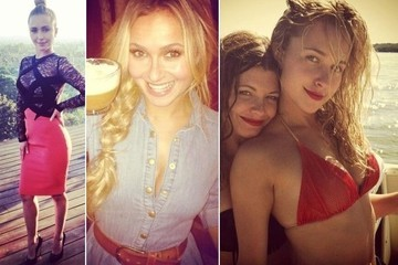 Hayden Panettiere TwitPic Highlights