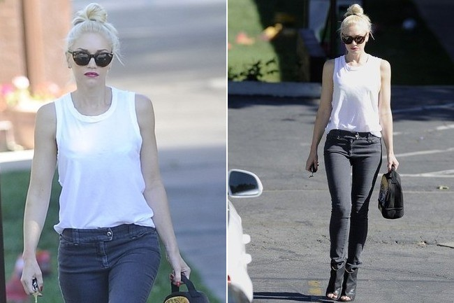 Gwen Stefani's Super Easy Outfit Idea