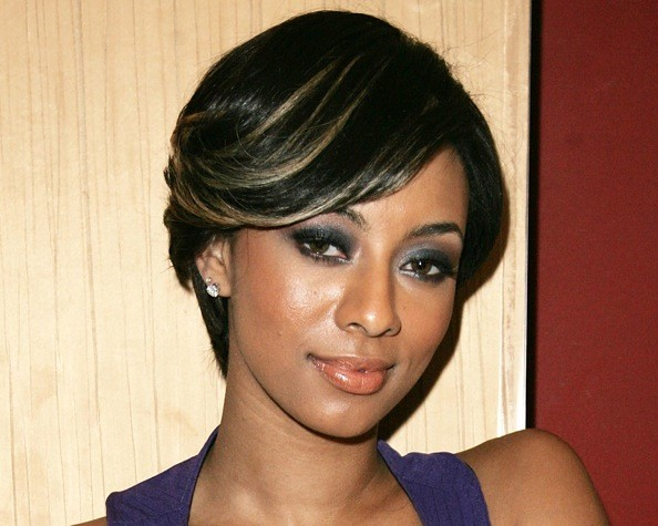 Excellent Keri Hilson39S Hairstyles In Pictures Keri Hilson Hairstyles Zimbio Short Hairstyles For Black Women Fulllsitofus
