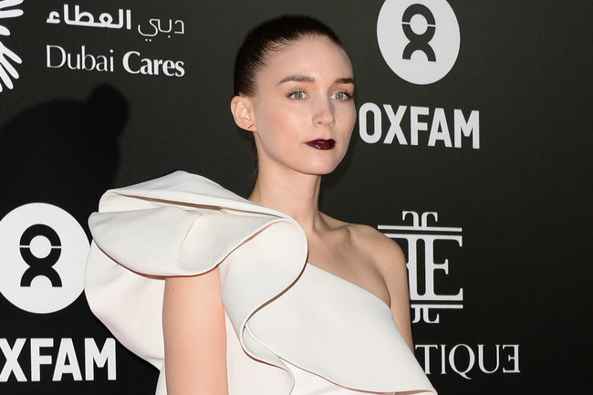 How to Make a White Gown Goth a la Rooney Mara