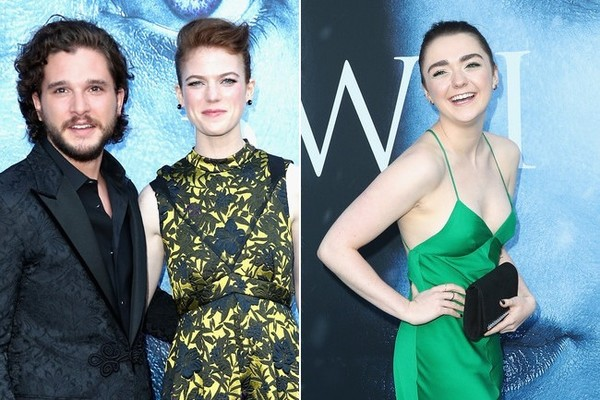 The 'Game of Thrones' Cast Hits the Season 7 Premiere in Style