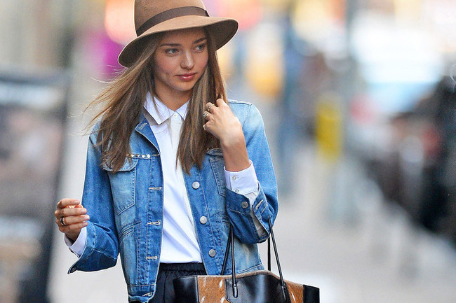 What to Wear With Your Jean Jacket - A Celebrity Guide - Outfit ...