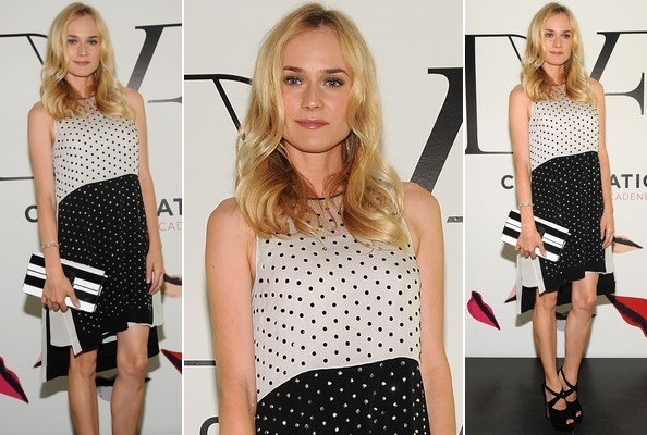 Look of the Day: Diane Kruger Is Spot On