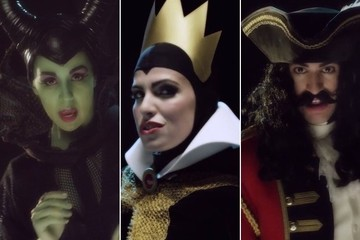 Disney Villains Dream of How Evil They Can Be Through Song