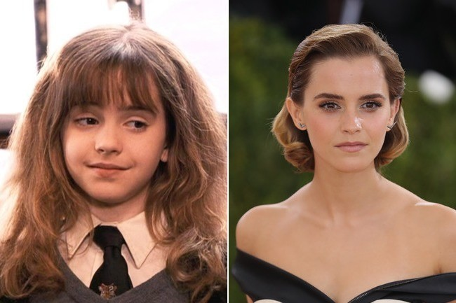 Emma Watson (Hermione Granger) - Then and Now: The Cast of ...