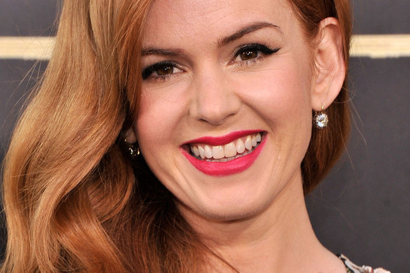 How to Get Isla Fisher's Bright Lip From 'The Great Gatsby' Premiere